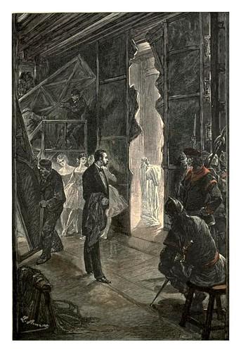 004-El castillo de los Carpatos4-Le chateau des Carpathes-Ilustraciones de Leon Benett