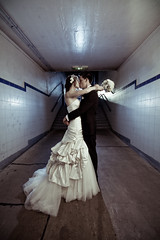 The Tunnel (jæms) Tags: wedding topf50 sydney tunnel explore remoteflash observatoryhill strobist flametreephotographycomau