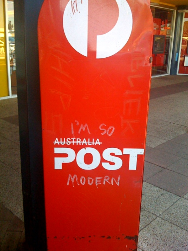 post modernist