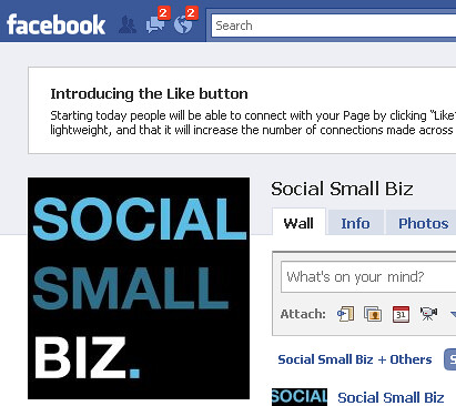 Facebook introduces 'like' button on Facebook fan pages