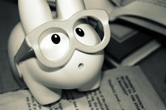 Labbit's Reading Glasses (willycoolpics.) Tags: bw white black reading glasses books picnik labbit