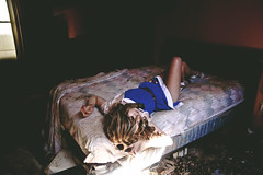 badactress (yyellowbird) Tags: house selfportrait abandoned girl illinois bed bedroom lolita cari