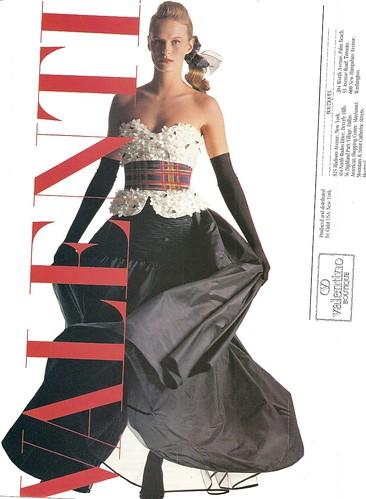 Valentino flower corset