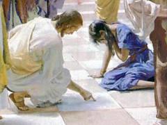 Jesús y la adúltera