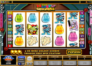 Nutty Squirrel slot game online review