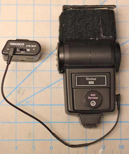 Vivitar 283 with CTR-301p trigger