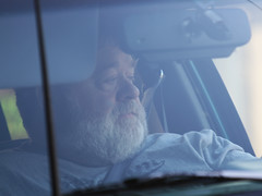 90 greybeard (eyepiphany) Tags: commuter rushhour endofoil driverportraits