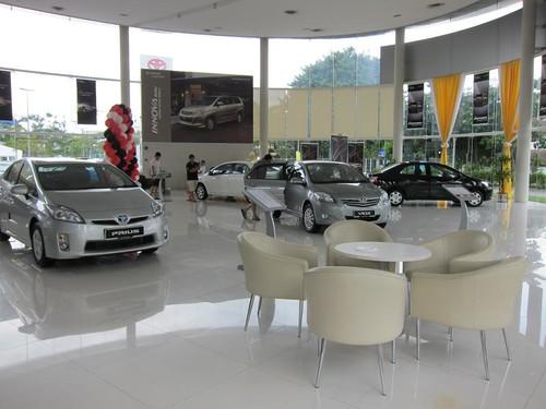 Toyota Showroom - Malaysia