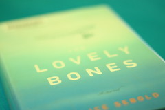 the lovely bones (shaylee beth) Tags: blue canon movie rebel book amazing novel xsi bluetones goodbook alicesebold thelovelybones sooc