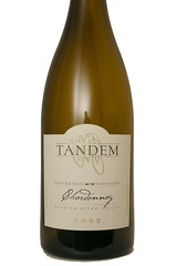 2002 Tandem Forter Bass Vineyards Russian River Valley Chardonnay