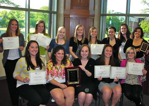 Alpha Xi Delta shows off all her awards