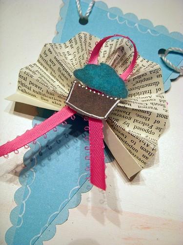 Cupcake Bunting Banner Pendant