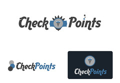 CheckPoints iPhone App (denlinkbarmann) Tags: logo design check graphic creation points checkpoints barmann denlin