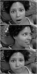119/365 (im_cyrina) Tags: selfportrait me blackwhite tych onthecouch project365 dipstych 2010yip project365april2010