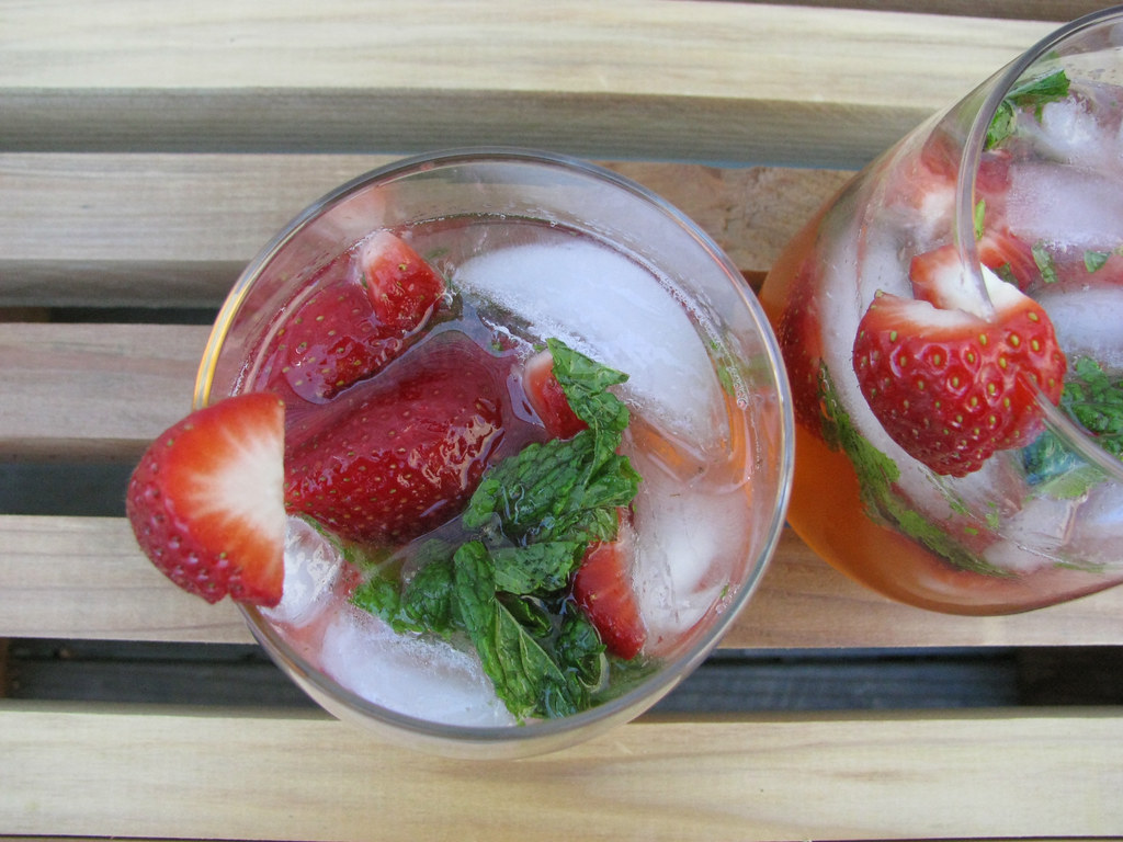 strawberry mojito-ish