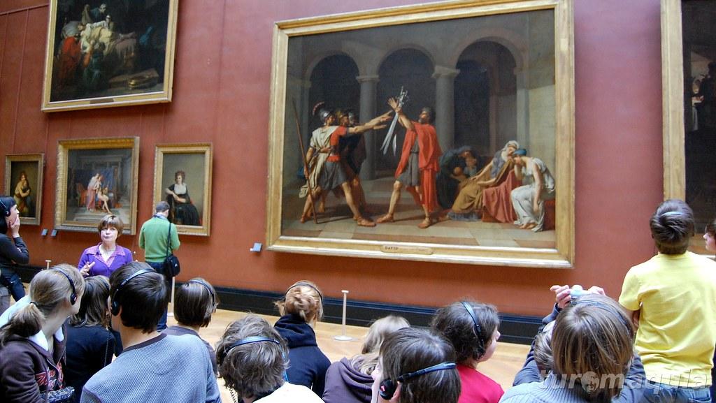 Neoclacissismo no Louvre