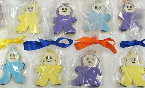[Image from Flickr]:TeleTubbies cookies