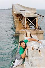 still alive (MigRodz) Tags: bridge abandoned crazy dangerous nikon climbing help hanging alive floridakeys clinging 70200mm d700