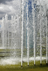 The Fountains Of Callaghan Square (Stuart Herbert) Tags: uk southwales wales europe shoot stu cardiff location route projects callaghansquare glamorganshirecanal cardiffcitycentre merthyrroad sealockpound afsdxnikkor35mmf18g