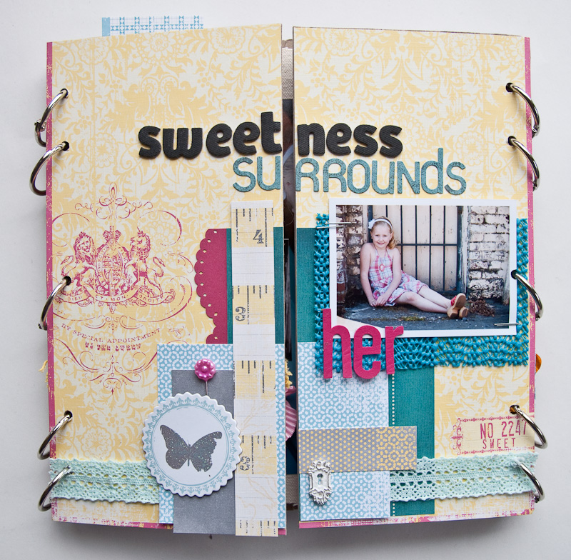 sweetness surrounds her
