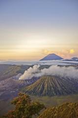Mount Bromo and Mount Semeru Indonsia (SKI968) Tags: indonesia hdr highdynamicrange surabaya bromo semeru mountbromo mountsemeru eastjava