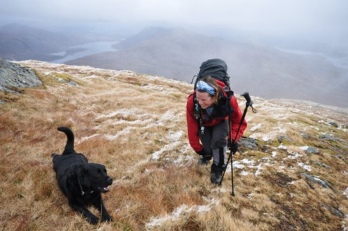 Don't worry Enzo the walks not over yet; there's another six Munro's to go