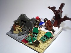 Allied Expeditionary Forces (PhiMa') Tags: lego wwii ww2 marines iwojima worldwar2 allies bastogne 101stairborn alliedexpeditionaryforce britishparatroopers etoinfantryman