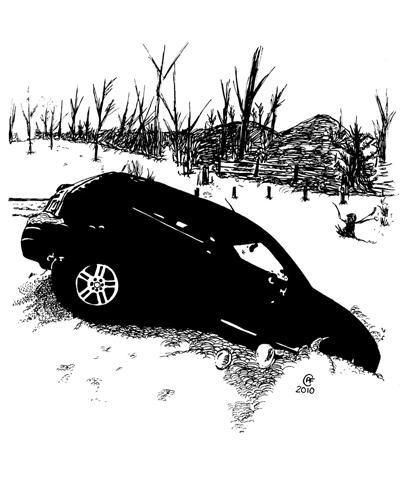Car In Ditch3