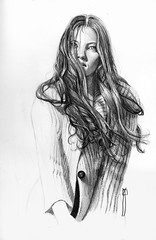 wind-finished 4-4 (rafanav) Tags: woman art pencil hair mujer drawing lapiz dessin navarro crayon rafa dibujo matita disegno bleistift pelo zeichnung