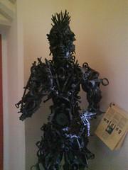 Dharmapala sculpture by Sahaja `1