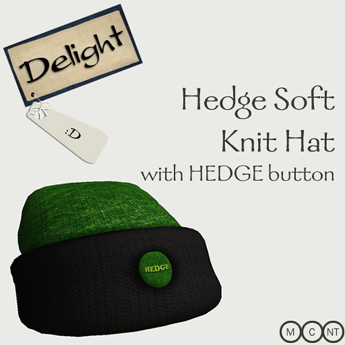 Hedge hat (hedge button)