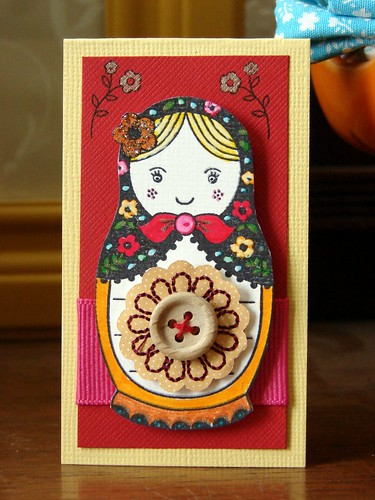 Matryoshka Doll Mini-Card