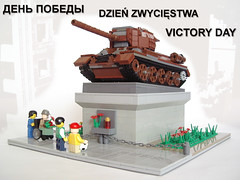00 May 9th (PigletCiamek) Tags: lego end ww2 t34