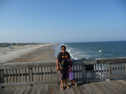 tybee island pier and beach.