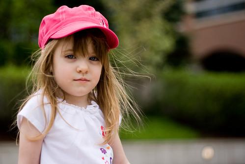 フリー写真素材, 人物, 子供, 少女・女の子, 帽子・キャップ,