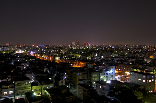 Sight from Yokohama International Students House
