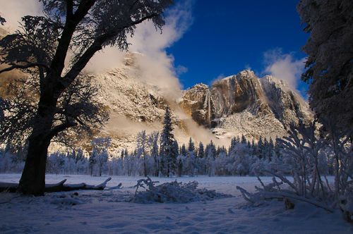 Upper Yosemite Falls, Yosemite National Park, California, United States