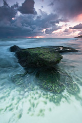 the beast within (-spacegoat-) Tags: longexposure sunset cloud seascape beach landscape rocks filter shore perth wa westernaustralia cokin gnd burnsbeach