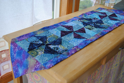 Quilties - Batik Windmills 1