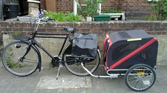 Dutch bike and trailer