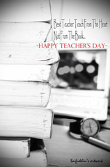 happy teachers day by saifuddin's artwork