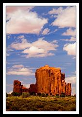 Rain God Mesa (stevenbulman44) Tags: canon landscape niceshot redrock monumentvalley mesa gitzotripod 70200f28l raingod brillianteyejewel