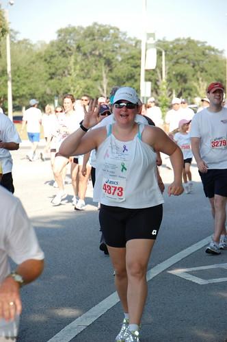 Miles for Moffitt 5K Finish