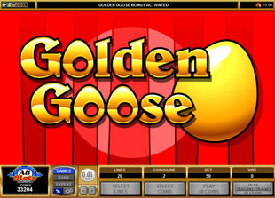 free Golden Goose Genie's Gems gamble bonus game
