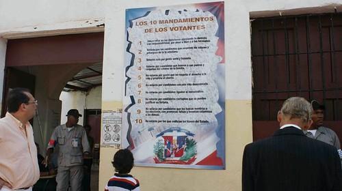 Violacion de la Ley Electoral. Foto Patricia Solano