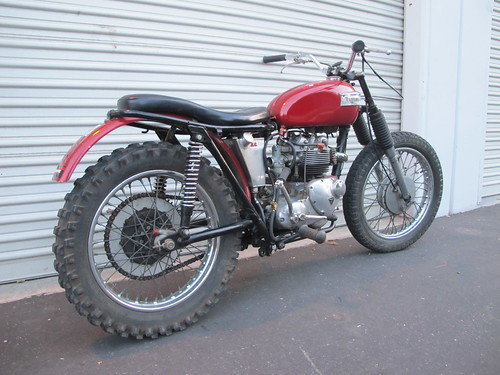 chopcult desert sled to dual sport 2414