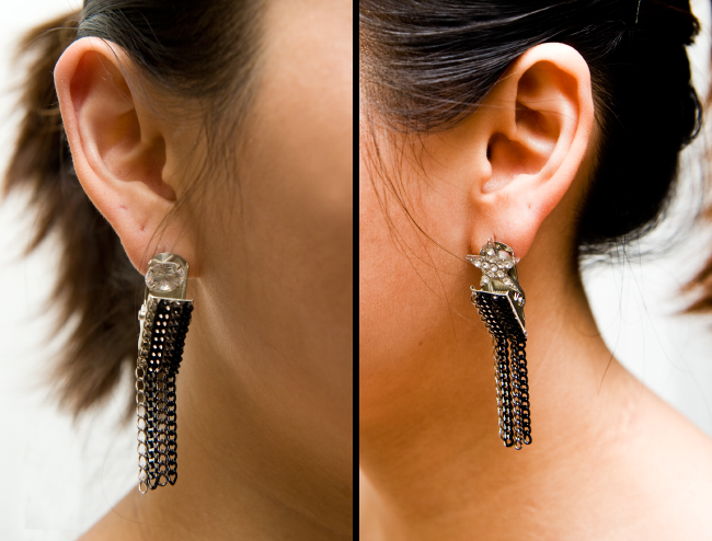 DIY ear clip-Fashion Infusion