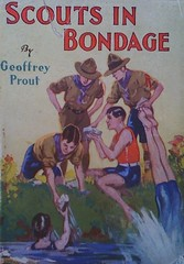 Scouts in bondage (SA_Steve) Tags: sex book funny humor bondage cover scouts unintentional
