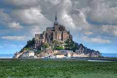 Le-Mont-Saint-Michel (Stan Parry) Tags: france abbey architecture religious europe religion gothic medieval monastery normandy middleages montsaintmichel 2010