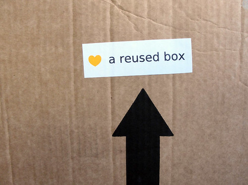 ♥ a reused box by you.